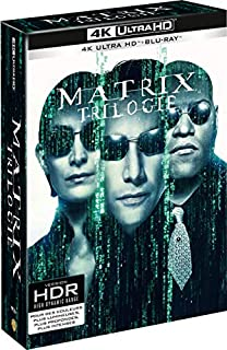 Matrix - La Trilogie - Edition limitée - Coffret Blu-Ray 4K [4K Ultra HD + Blu-ray] (B07D4ZPMR9) | Amazon Products