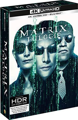 Matrix - La Trilogie - Edition limitée - Coffret Blu-Ray 4K [4K Ultra HD + Blu-ray]