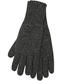 Heat Holders Mens Twist Knit Insulated Winter Thermal Gloves