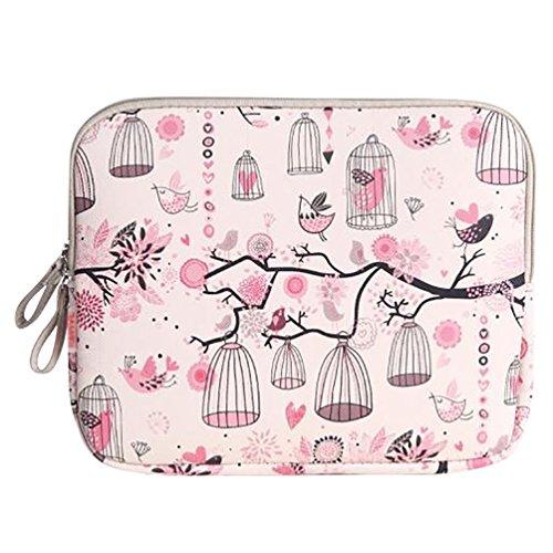 Baymate Femme Housse Portable/Serviette/Sacoche Pour Macbook /Laptop/Notebook 11.6-15 Pouces