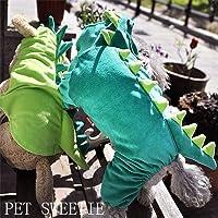 YU-K Cani abbigliamento abbigliamento piccolo cane vestiti naval air tute
