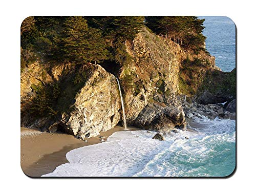 Pfeiffer Big Sur State Park (Big Sur Julia Pfeiffer Burns State Park - Customized Rectangle Non-Slip Rubber Mousepad Gaming Mouse Pad 8.6