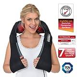 Donnerberg DAS ORIGINAL Schulter Massagegerät für Nacken Rücken | shiatsu Nackenmassagegerät mit Wärmefunktion | 3-Rotation Massage | TÜV | 7 Jahre...