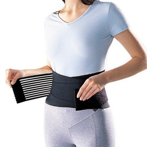 Takestop® supporto lombare yf con stecche fascia elastica tutore fitness con chiusura in velcro neoprene sollievo mal di schiena trauma lombalgia sciatalgia corsetto
