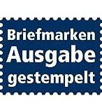 Goldhahn Deutsches Reich Zusammendruck S115 gestempelt Hindenburg 1934/1936 (1+3) Briefmarken für Sammler