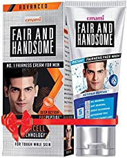 Fair and Handsome Fairness Cream, 60g and Fair and Handsome Instant Fairness Face Wash, 100g