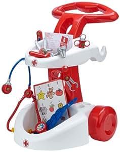 klein 4315 jeu d 39 imitation chariot m dical avec accessoires jeux et jouets. Black Bedroom Furniture Sets. Home Design Ideas