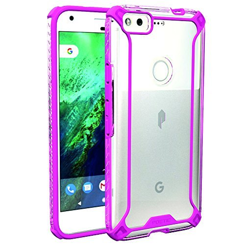 google-pixel-case-poetic-affinity-series-premium-thin-no-bulk-clear-dual-material-protective-bumper-