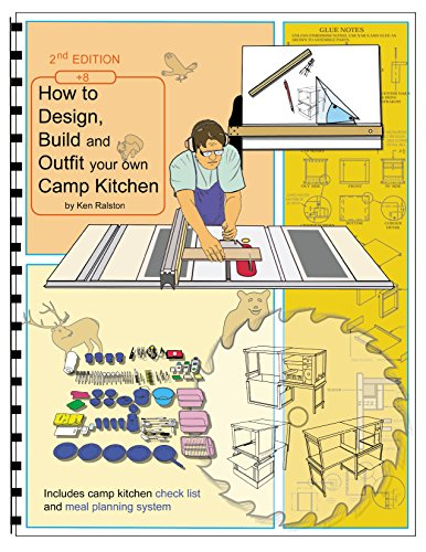 How to Design, Build and Outfit Your Own Camp Kitchen: Chuck Box Design and Construction Illustrated (English Edition) -