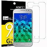 NEW'C Verre Trempé pour Samsung Galaxy Core Prime (G360),[Pack de 2] Film Protection écran - Anti Rayures - sans Bulles d'air -Ultra Résistant (0,33mm HD Ultra Transparent) Dureté 9H Glass