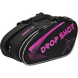 Drop Shot Draco Paletero Pádel, Unisex Adulto, Rosa, M
