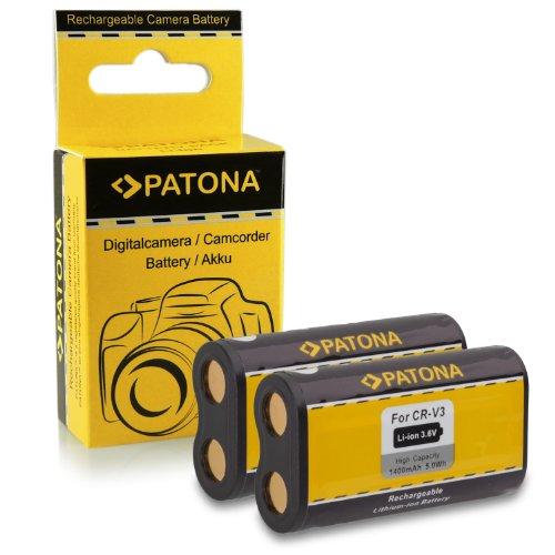 2x-batteria-cr-v3-per-kodak-easyshare-c300-c310-c315-c330-c340-c360-c433-c503-c530-c533-c603-c633-c6