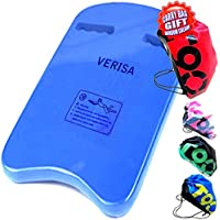 Natación piscina formación deportes acuáticos fácil Grip Float Junta Entrenamiento de Natación/learner apto para adultos, niños y Fun Inc luz mochila bolsa de deporte/cordón (U)