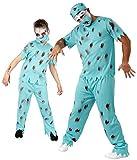 Foxxeo 40152 | Zombie Chirurg Kostüm für Herren Halloween Horror Party Arzt Doktor Gr. M - XXL, Größe:L