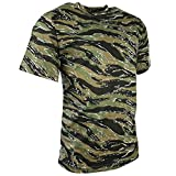 Kombat UK hombres adultos camuflaje camisetas, hombre, color Tiger Stripe, tamaño S