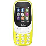 Akshat CALLBAR C63 (Looks Like Nokia 3310) Dual Sim Mobile With Money Detector Light And Battery Saver Option Yellow Color Mobile Phone, Mobile Accessories Callbar Bold 3310i Mobiles