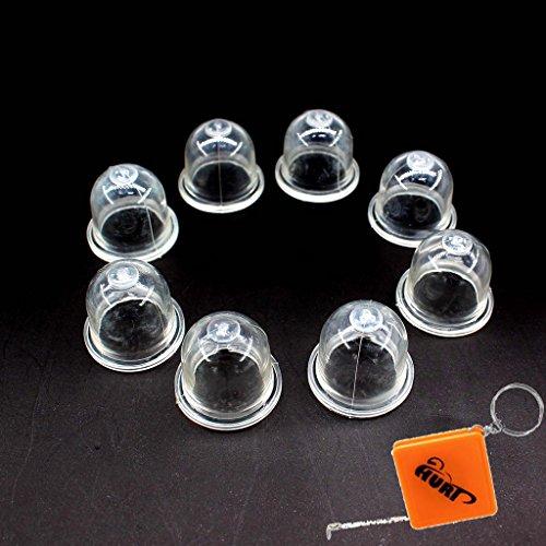 HURI 8x Primer Pumpe - Primerkolben ersetzt Walbro 188-12-1 Vergaser WA WT WY WYK WYL WYS 188-12, Stihl 4133 121 2700