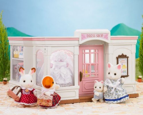 "Epoch Sylvanian Families Sylvanian Family Doll ""Woods Clothes shop Mi-62"" (japan import)"