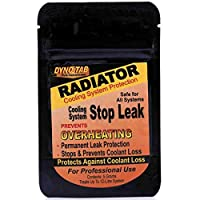 Dyno-tab 55445 Radiator Stop Leak, Prevent Overheating, Permanent Leak Protection, Stops & Prevent Coolant Loss, Free Flow Powder, 5 gram Pouch treat 12 Liter