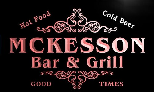 u29654-r-mckesson-family-name-bar-grill-home-beer-food-neon-sign-barlicht-neonlicht-lichtwerbung