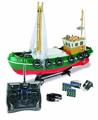 Carson 500108014 - Fischkutter Cux-13, 100% RTR, 2.4 GHz von Carson