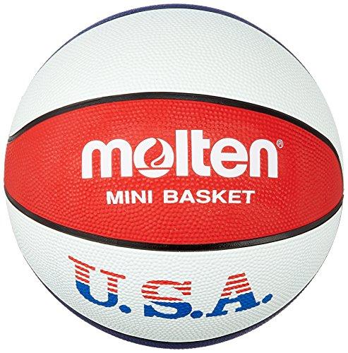 Molten Basketball Basketball BC6R-USA, Weiß/Blau/Rot, 6, BC6R-USA