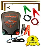 Electric Fence Energiser ShockRite SRB120 1.2 Joule 12 Volt, Earth Stake & Cables