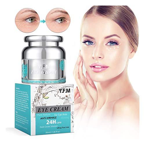 Augencreme, Y.F.M Augenpflege Anti-Falten und Aging Creme Schwellungen & Fältchen, mildert Augenfalten und versorgt die Haut mit Feuchtigkeit Gesicht Feuchtigkeitsspendend 30ml