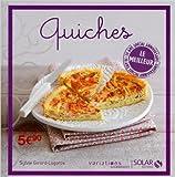 Quiches - Top 10 VG de Sylvie GIRARD-LAGORCE ,Myriam GAUTHIER-MOREAU (Photographies) ( 1 janvier 2014 )