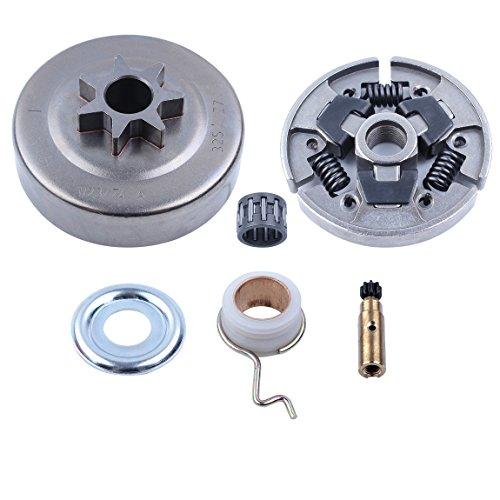 Haishine Schneckengetriebe Ölpumpenwaschnadel Lagertrommel Kit für STIHL 025 MS210 MS230 MS250 017 018 MS170 MS180 170 180 021 023 Kettensäge