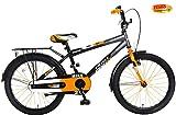 Plezier Jungen Hollandrad Mike 20 Zoll orange-schwarz