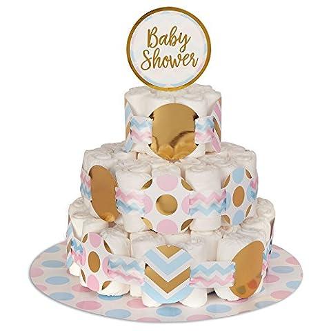 Neviti Pattern Works Nappy Cake Decoration Kit, Multi-Colour