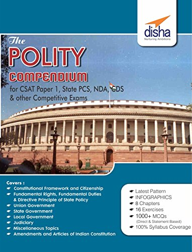 Download Disha Indian Polity Compendium book Pdf Free