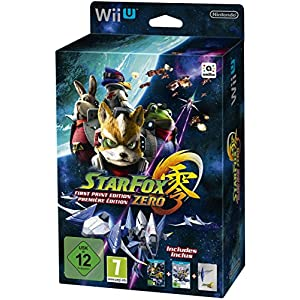 Star Fox Zero First Print Edition inkl. Star Fox Zero Guard – [Wii U]