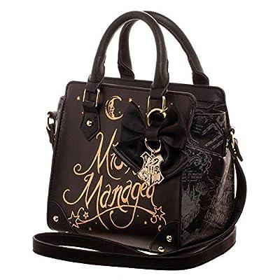 BIOWORLD MERCHANDISING Petit sac à Main Harry Potter - Méfait accomplit Messenger Bag, 22 cm, Black (Noir)