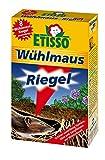 ETISSO 1319-789 Wühlmaus-Riegel 180g (18x10g) schützt zuverlässig Gemüse, Obst und Zierpflanzen