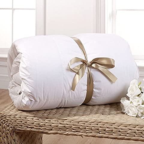 Rose Feather Luxurious Down Duvet Blanket Winter Spring Autumn Summer Comforter Quilt-13.5Tog -10.5Tog -7.5Tog -4.5Tog Single Twin Double King Super King (10.5Tog, King