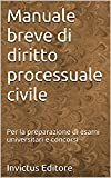 Manuale breve di diritto processuale civile