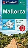 Mallorca: 4 Wanderkarten 1:35000 im Set inklusive Karte zur offline Verwendung in der KOMPASS-App. Fahrradfahren. (KOMPASS-Wanderkarten, Band 2230) -