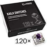 Glorious PC Gaming Race Conmutadores Kailh Pro Purple para teclados GMMK - 120 Piezas