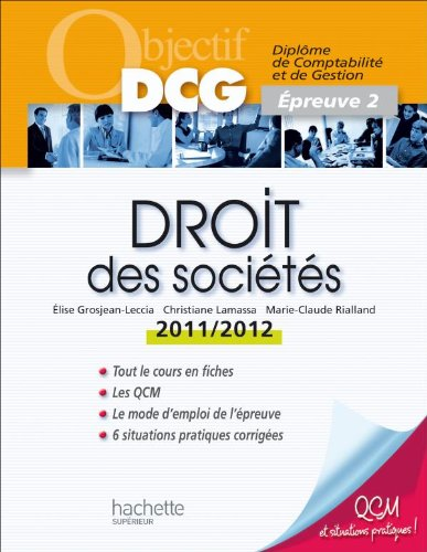 Droit des sociètés 2011/2012: Épreuve 2