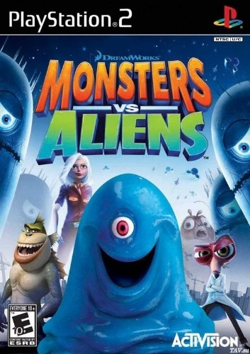 2011 Sache Die Film (Monsters vs Aliens)