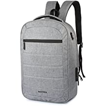 "Novex Anti Theft Grey 15.6"" Laptop Backpack"