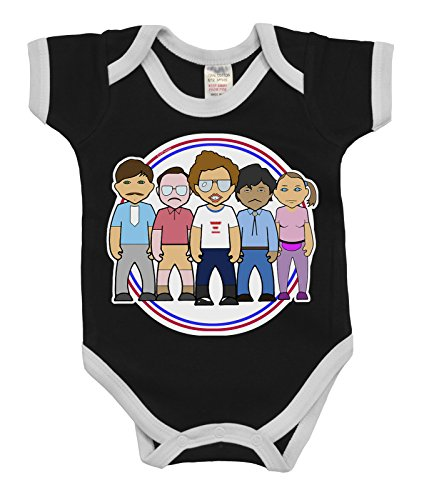 VIPwees Baby Kleidung Babygrow Impeccably Nerdy Boys & Girls Baby Bodysuit