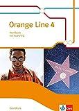 Orange Line 4 Grundkurs: Workbook mit Audio-CD Klasse 8 (Orange Line. Ausgabe ab 2014)