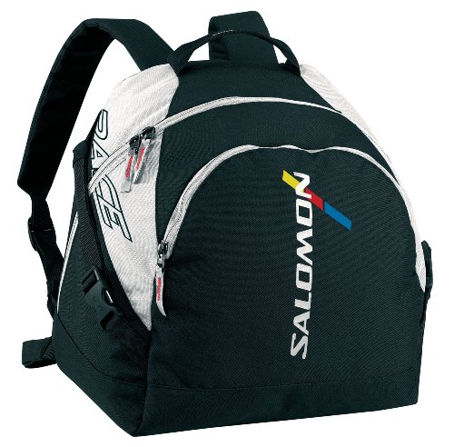 SALOMON-Bolsa para botas de esquí Boot Backpack, color Negro - blanco/negro, tamaño ns