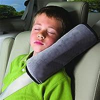 HENGSONG Schlafkissen Nackenstütze für Kinder Auto Baby Kind Sicherheitsgurt Autositz Kopfkissen Gürtel Pillow Schulterschutz