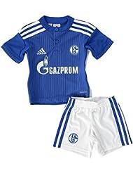 Kleinkinder Heimoutfit FC Schalke 04 Home Mini Kit Saison 2015/16