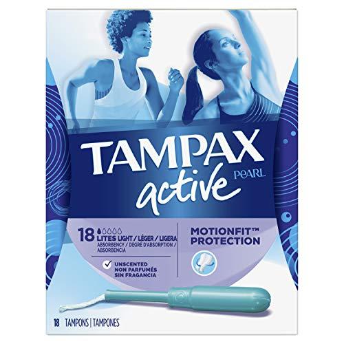 Tampax Tampax Perle Kunststoff geruchloses Lites Tampons - Tampax Pearl Plastic