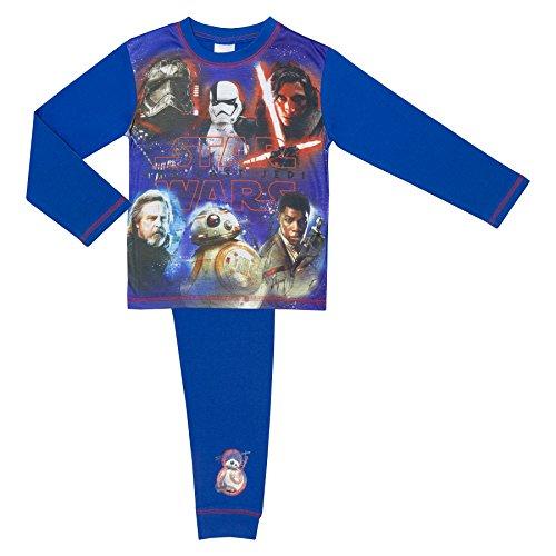 yjamas - Alter 4-10 Jah - Last Jedi 11-12 Years/152-158 cm (Star Wars-pyjama Für Erwachsene)